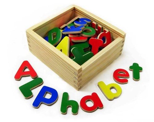 magnetic alphabet