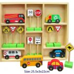 Wooden Traffic Sign Boxed Set