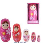 Fun Factory Wooden Baboushka Nesting Dolls