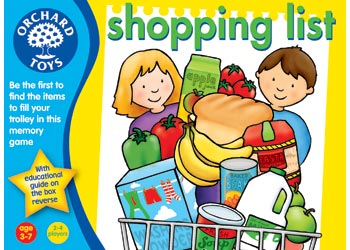 Shopping List Game (Orchard Toys)