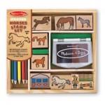 M&D Horse Stamp Set