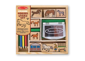 M&D Horse Stamp Set