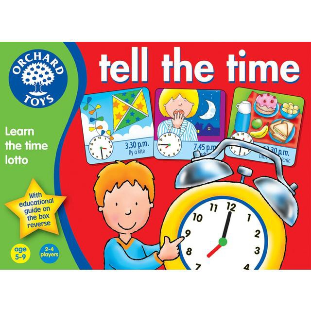 Tell the Time (Orchard Toys)