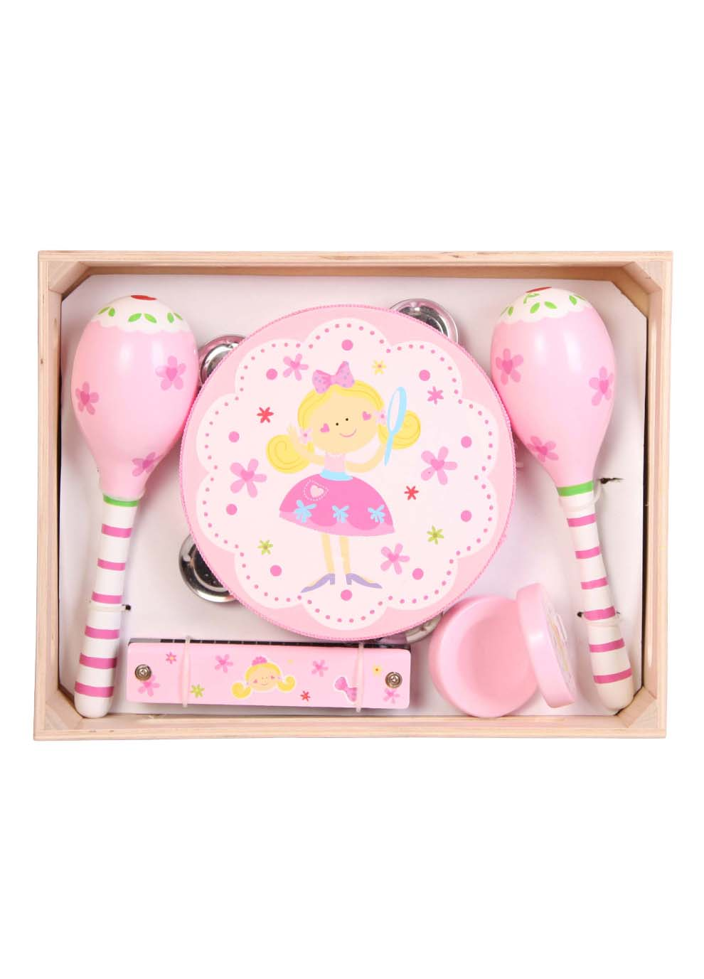Wooden 5 Piece Fairy Musical Set