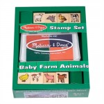 M&D Baby Farm Animals Stamp Set
