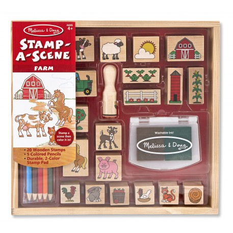 M&D Stamp a Scene Farm