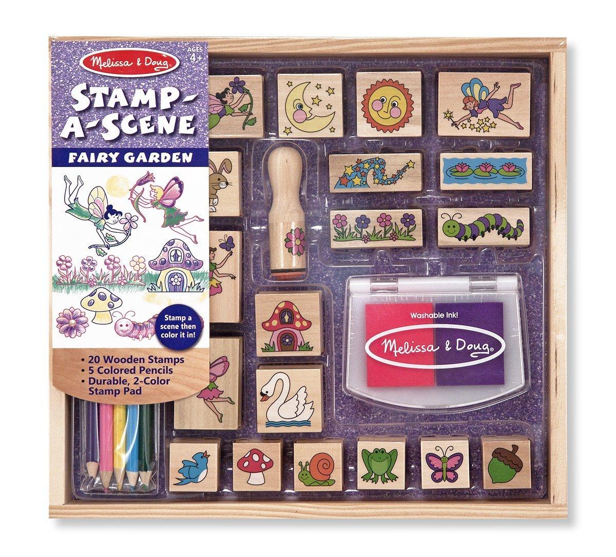 Stamp a Fairy Garden