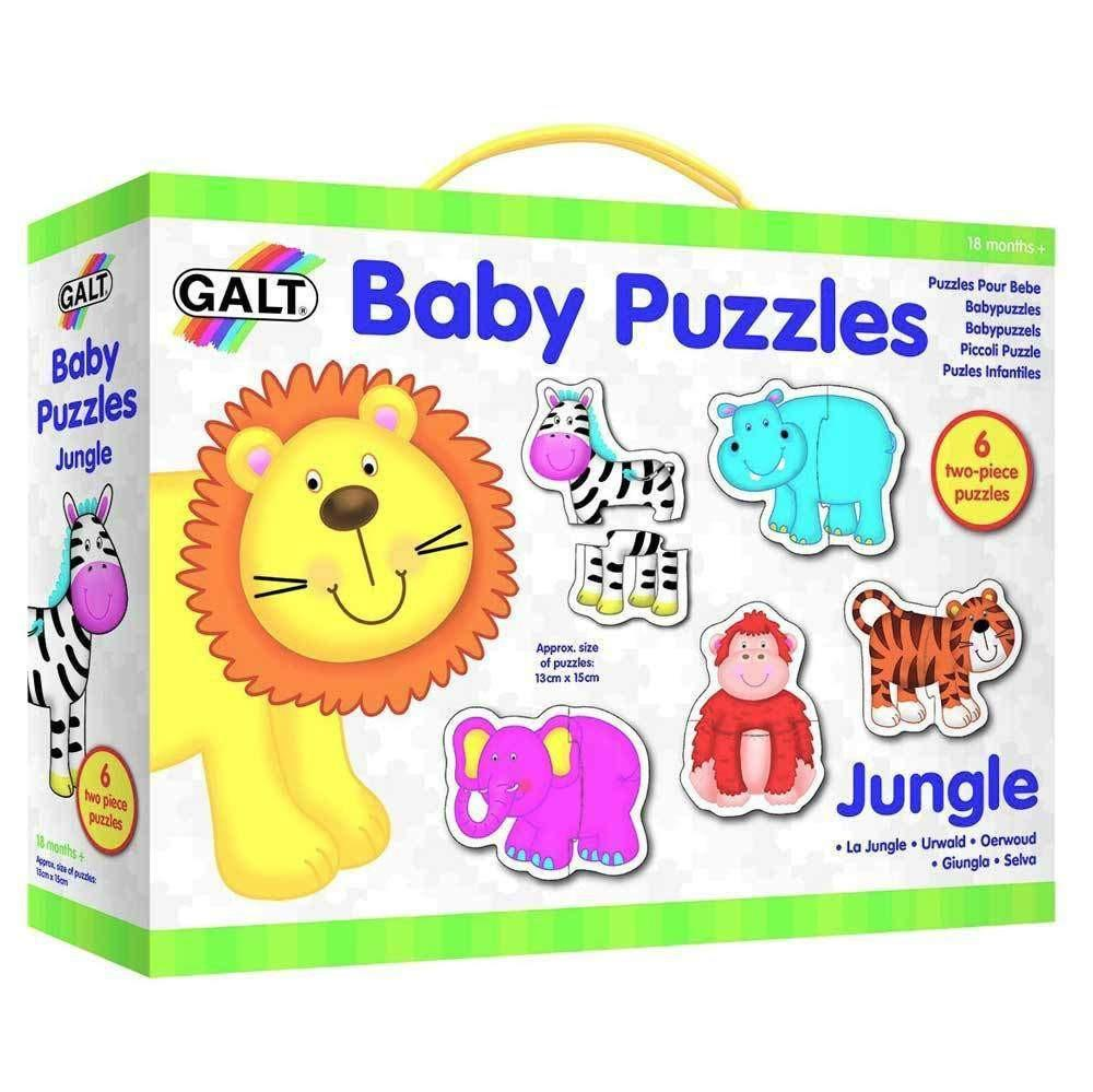 Galt Baby Puzzles Jungle Wild Woodland Toys