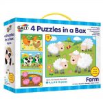 farm galt four puzzles in a box