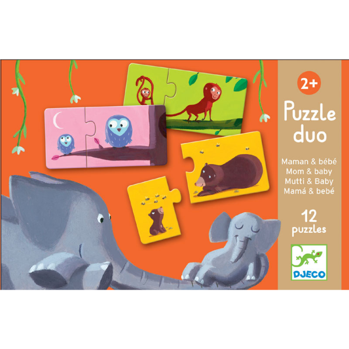 Djeco Duo Puzzle Mum and Baby