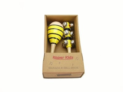 Bee Maraca & Jingle Stick Set