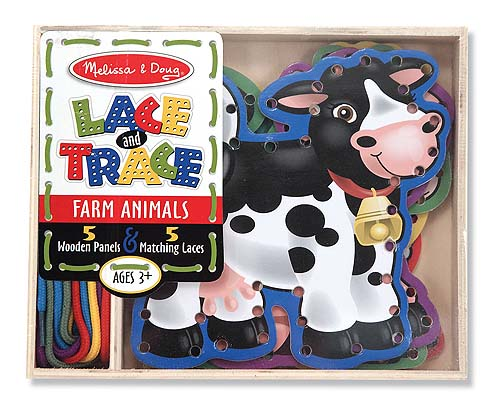 M&D Lace and Trace farm Animals