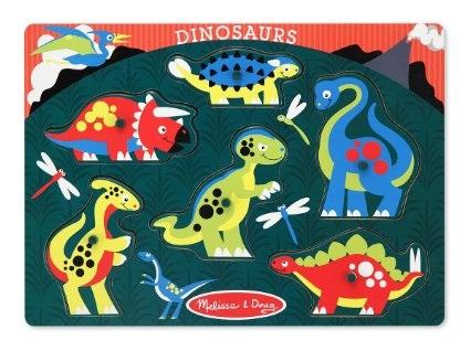 Dinosaur Peg Puzzle