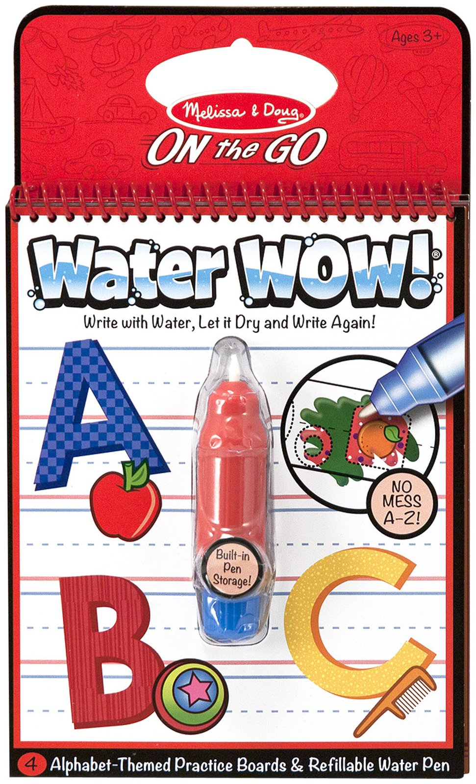 Water Wow Letters