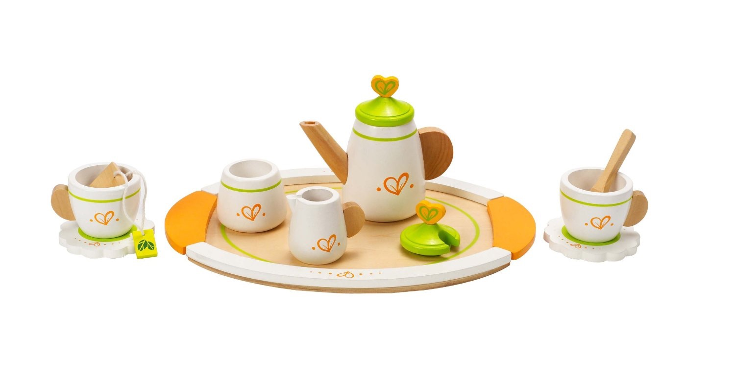 Hape Tea Set For Two Wild Woodland Toys