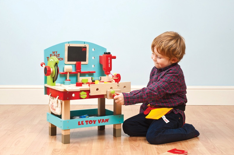 Le Toy Van My First Tool Bench Wild Woodland Toys