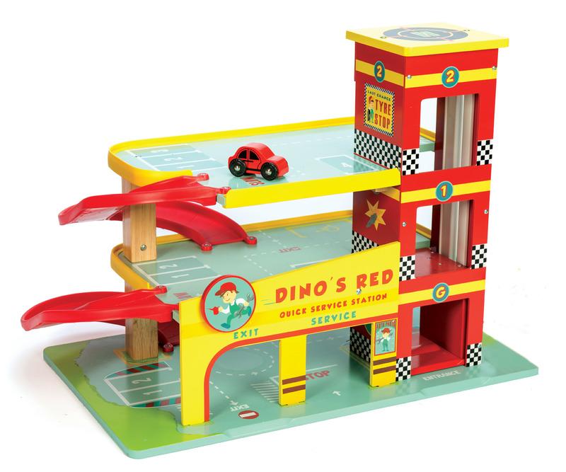 Dinos Red Garage
