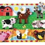 Melissa & Doug Farm Chunky Wooden Puzzle