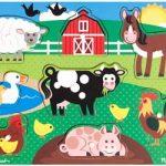 Farm Peg Puzzle (Melissa & Doug)