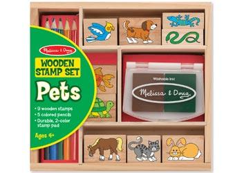 MND9363 Pets Stamp Set