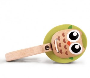 Rattle Toy Owl