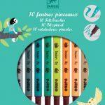 10 Felt brushes
