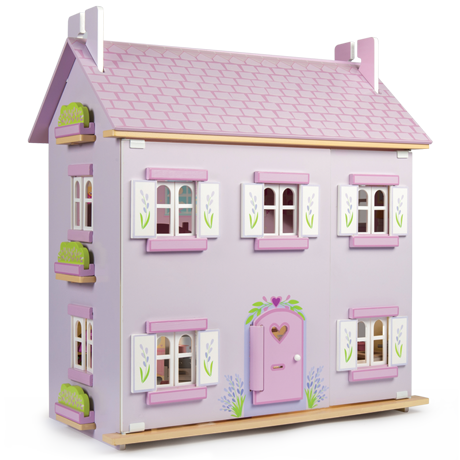 le toy van lavender dollhouse
