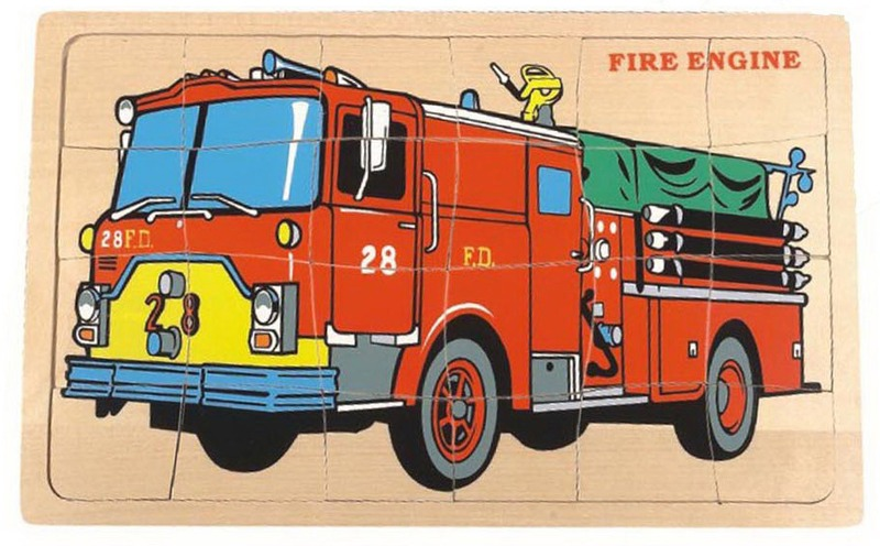 Fun Factory Fire Engine Puzzle