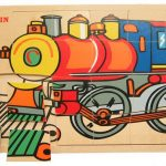Fun Factory Train Puzzle