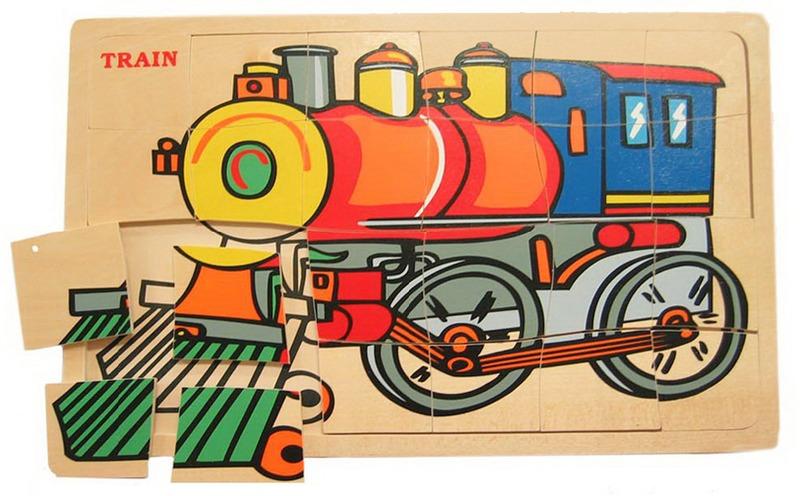 Fun Factory Train Puzzle