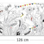 Djeco Butterfly Ball Colouring In Panoramic