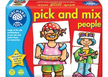 Pick n Mix People (Orchard Toys)
