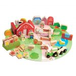 EverEarth 53 Piece Organic Farm Set