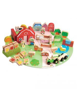 53 piece farm play set