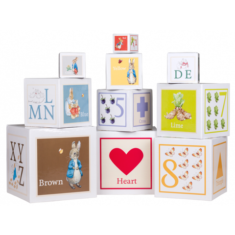 Beatrix Potter Stacking and Nesting Cubes