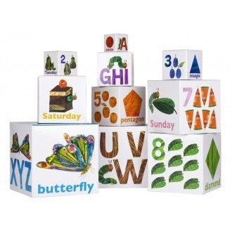 Hungry Caterpillar Stacking Blocks