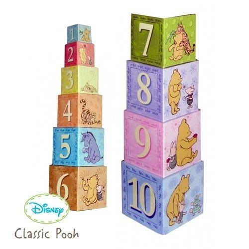 Pooh Stacking Blocks