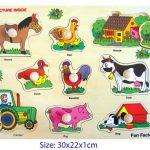 Horse & Farmyard Puzzle