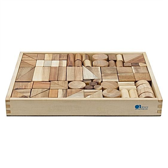 Q Toys Wooden Project Blocks