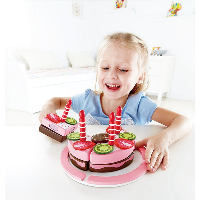 Hape Double Flavoured Wooden Birthday Cake