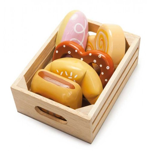 le toy van market crate - bakers basket