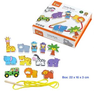 zoo lacing blocks