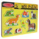 Melissa & Doug Sound Puzzle - Pets