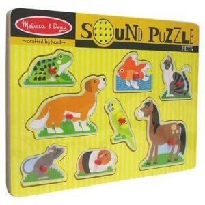 MELISSA-DOUG-Pets-Wooden-Sound-Puzzle