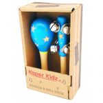 kaper kidz- bell and maraca set blue-500x500
