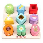 Le Toy Van Petilou Sensory Shapes Board