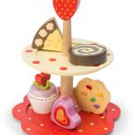 Le Toy Van Honeybake 2 Tier Cake Stand Set