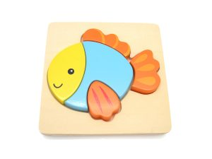 Small Size Wooden Chunky Puzzles