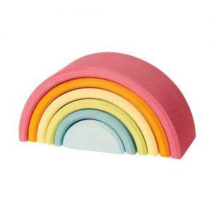 grimms' medium pastel rainbow