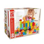 Hape Beech Wooden Blocks - 80 Pieces